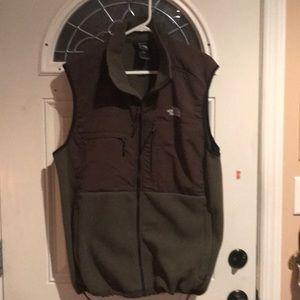 North Face zipper vest